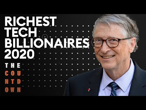 The Richest Billionaires In Tech 2020 | The Countdown | Forbes