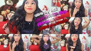 Q&A: My hair extensions,Boyfriend,Kissing and expelled!!! Thumbnail
