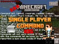 [0.9.5] Single Player Command MOD ! Minecraft Pocket Edition [FR-IOS-HD]