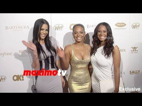 Christina Milian | OK! Pre-Grammy Party 2015 | Red Carpet thumbnail