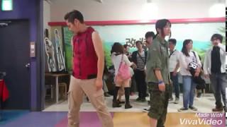 5/4 DEF後、Fredy.さんコラボ第1弾!山梨勢恒例バックダンサー付き.