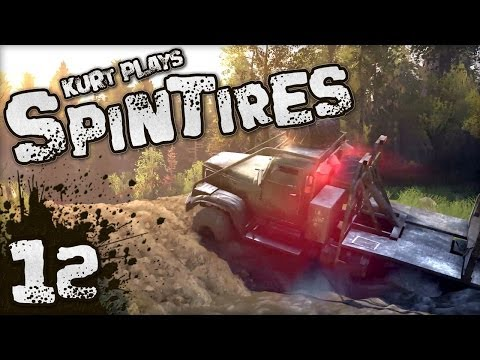 Let's Play SpinTires - 12 - Home Stretch