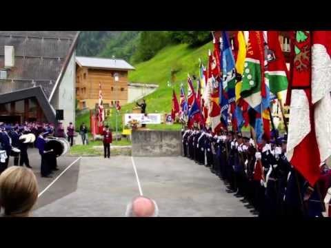 Gesamtspiel Oberwalliser Musikfest Ferden 9.6.2013