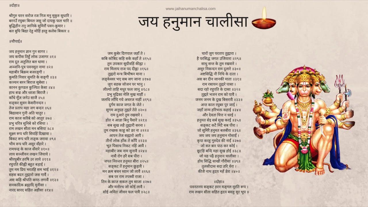 Fast Hanuman Chalisa in 4 minutes by Chand Kumar
