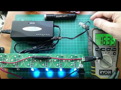 Charging SuperCapacitors from a Mains Power Supply