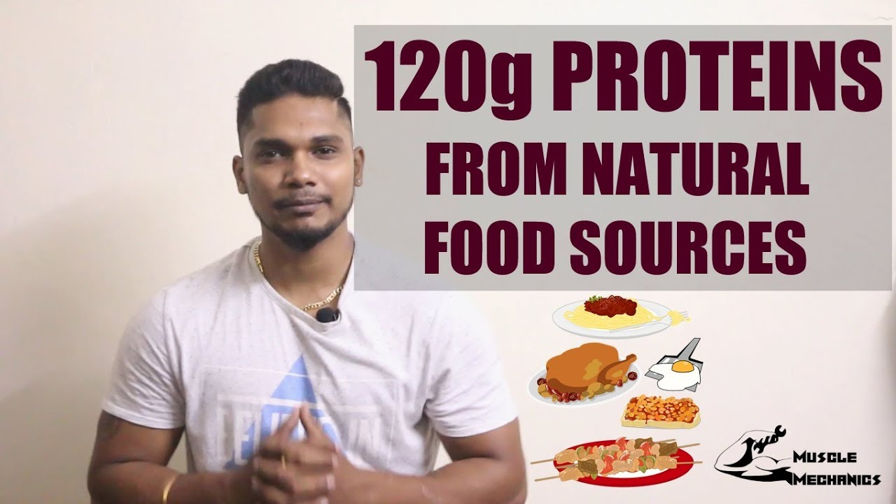 diet to eat 120g protein in a day
