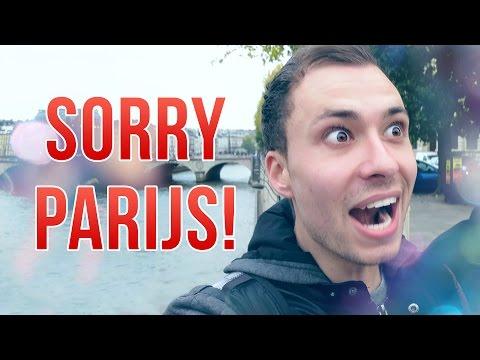 SORRY dat ik er ben... PARIJS!
