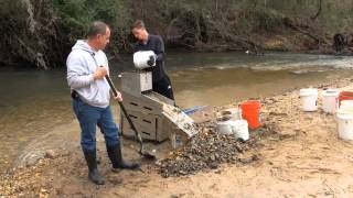 Gold Hog Highbanker - Gold Hog Dredge - Sluice Box