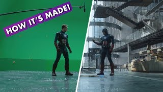 Marvel Studios' Avengers: Endgame - Making the Cap vs. Cap fight!