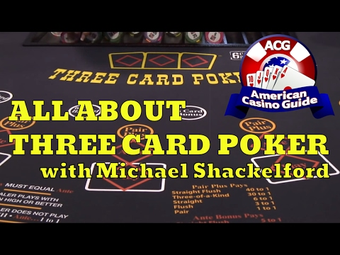 "All About Three Card Poker with Michael ""Wizard of Odds"" Shackleford"