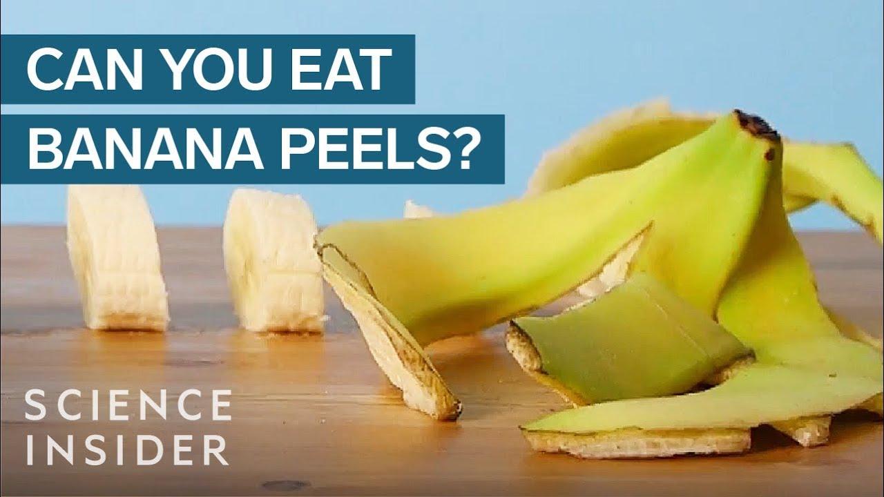 Здравствени бенефити од јадење лушпа од банана