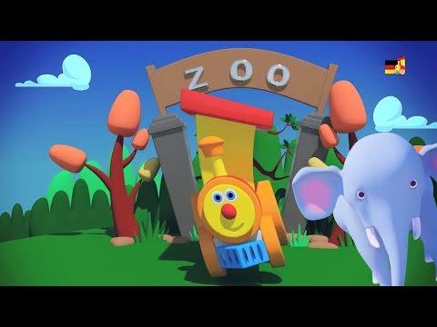 Ben Zug geht zum Zoo   Kinderzimmer Reime   Tier Lied   Learning Video   Ben Train Going to Zoo