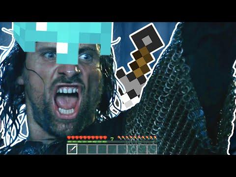 Battle Of Helm's Deep But It's Minecraft