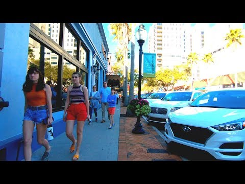Sarasota, Florida | Downtown - Walking Tour