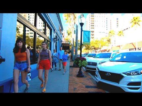 Sarasota, Florida | Downtown - Walking Tour