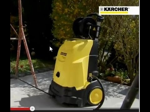 k rcher hot water high pressure cleaner hds compact doovi. Black Bedroom Furniture Sets. Home Design Ideas