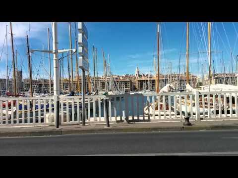 Le vieux port Marseille car drive