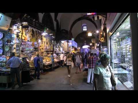 Istanbul, Le Bazar Egyptien ( Full HD )