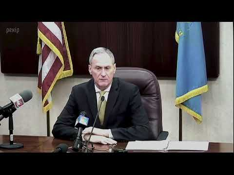 2018 Post-State of the State Press Conference with Governor Daugaard