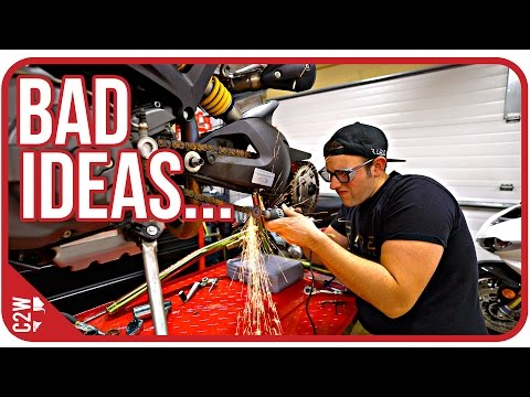 I almost messed up...[Wrecked Bike Rebuild - Ep. 09 - Ducati Monster 1100]