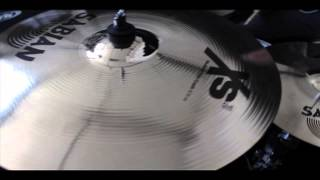"Sabian XS20 Performance Cymbal Promo Set w/ FREE 18"" Crash - Brilliant Finish"