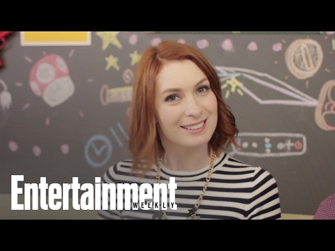 Q & Play: Felicia Day talks her new book & fandoms while playing 'Mario Kart'