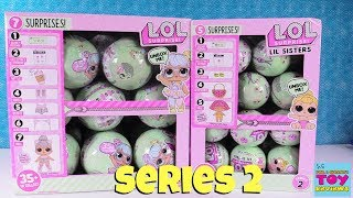 LOL Surprise Series 2 Tots & Lil Sisters Opening Doll Review | PSToyReviews
