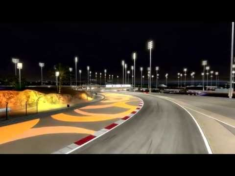 F1 2014 Bahrain GP Ferrari (PLY) race