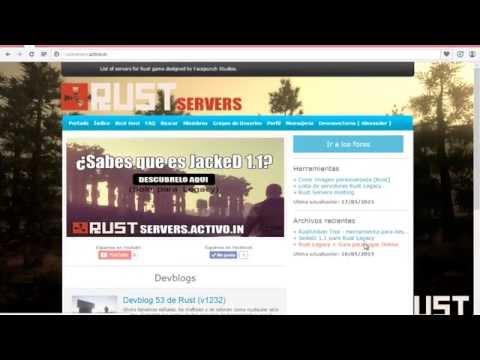 Como descargar Rust Legacy y jugar Online Gratis