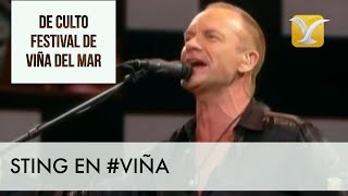Sting Festival de Viña del Mar / 60 Momentos de Culto #VIÑA #FESTIVALDEVIÑA #STING