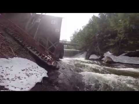 Balmoral Grist Mill Fall, Nova Scotia