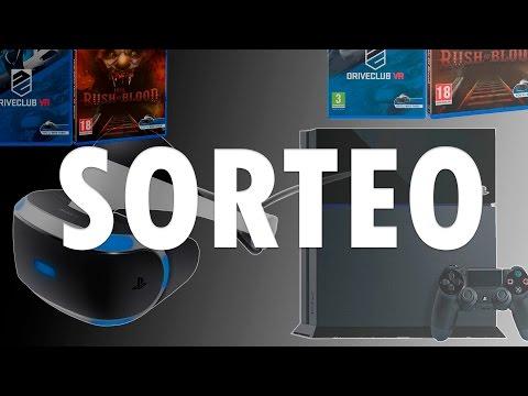 ¡SORTEO PlayStation 4 + PS VR + 5 Juegos! 🕹️