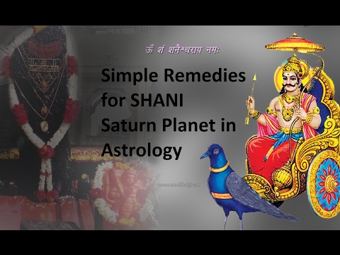 Remedies for saturn(Shani) planet - YouTube