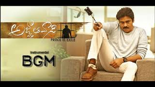 AGNATHAVASI BGM | Instrumental | 2nd Half BGM | PAWAN KALYAN