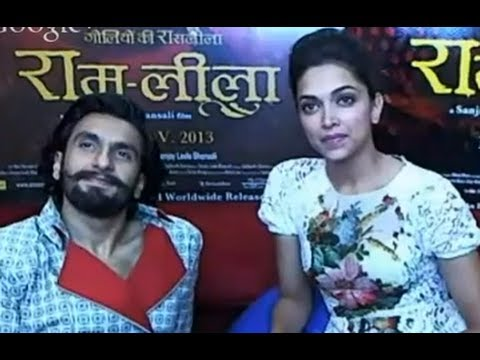 Goliyon Ki Raasleela Ram-leela Hangout with Deepika Padukone and Ranveer Singh Travel Video