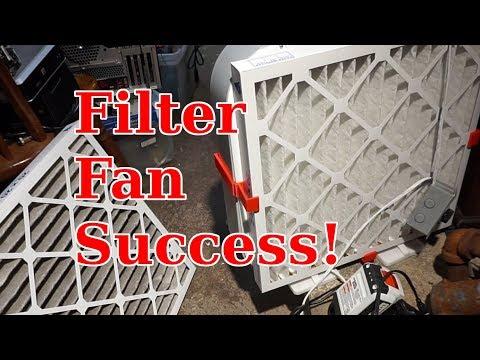 Filter Fan Success!