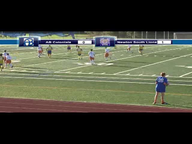 Acton Boxborough Varsity Soccer vs Newton South 10/18/13