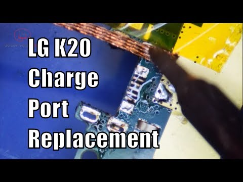 LG K20 Charging Port Replacement