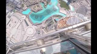 Dropping the iPhone 7 Plus From The World's Tallest Building burj khalifa Dubai