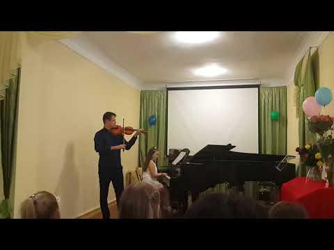 Vika Ryzhova.Last class meeting in music school 2018 05 22.