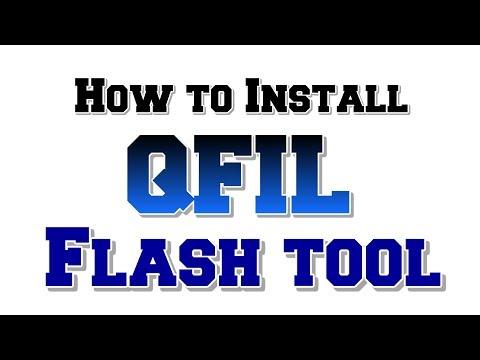 How to Install QFIL Flash tool | QPST Flash tool