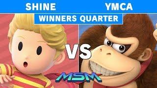MSM 177 - ShiNe (Lucas) vs YMCA (Donkey Kong) Winners Quarters - Smash Ultimate