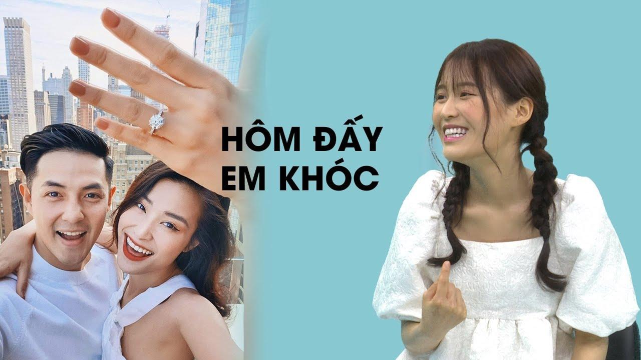 Đông Nhi – Ông Cao Thắng sắp cưới, Han Sara khóc sướt mướt vì mừng