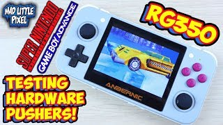 Retro Game 350 SNES & GBA Hardware Pushers Testing! Special Chip Games - RG350
