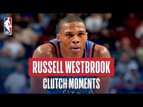 Russell Westbrook's Career Clutch Moments!