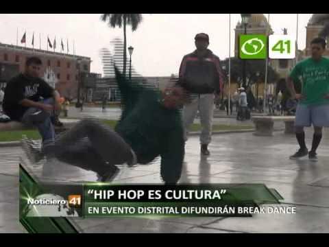 Anuncian evento de hip hop y break dance - Trujillo