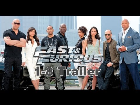 fast furious 1 8 trailer youtube