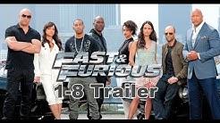 Fast & Furious 1-8 Trailer