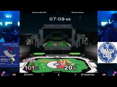 Smash Cafe - ARMY (Ice Climbers) vs...