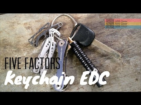 Key Chain EDC: 5 Factors to Focus Your Essential Carry